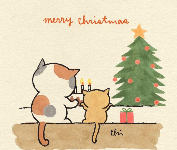 メリークリスマス~(=^・ω・^)ノ☆