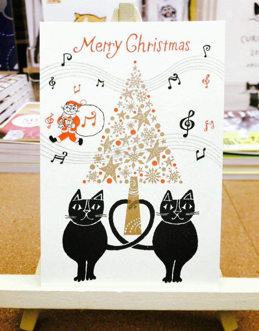 おかべてつろう_クリスマスカード1