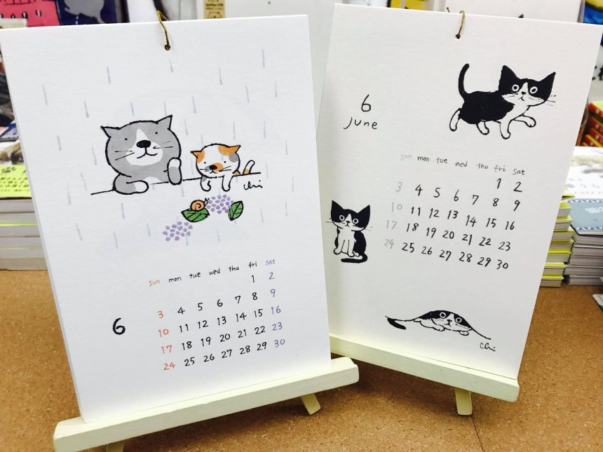 『necoya2018カレンダー』再入荷4