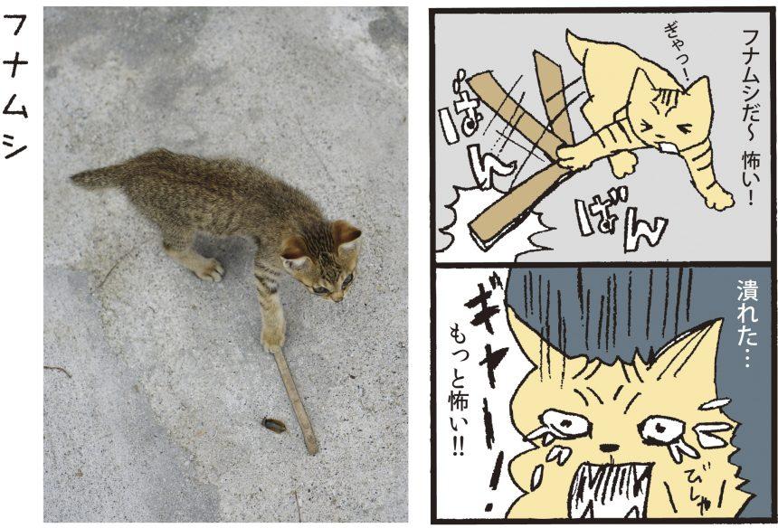 ねこニコ漫画_フナムシ