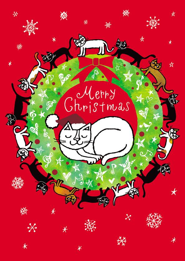 イラストレーターおかべてつろう_みんな大好きメリークリスマス!