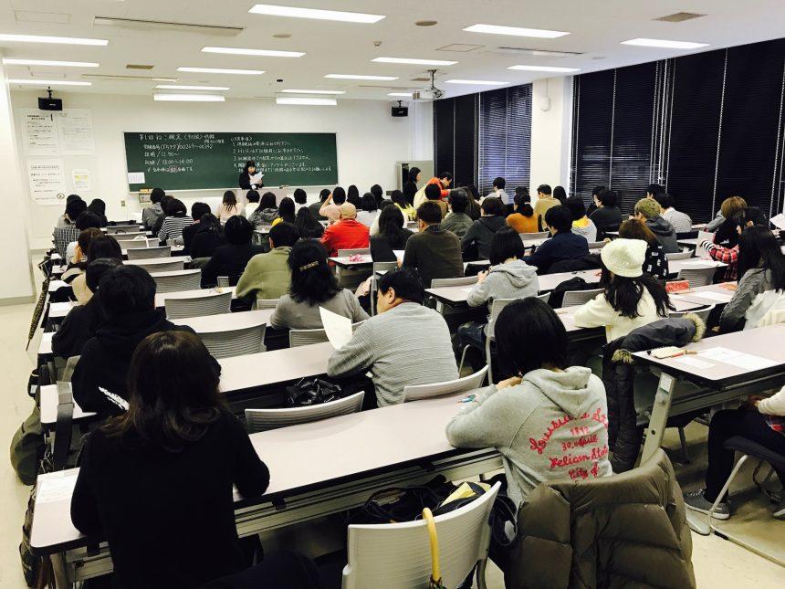 第1回東京会場_試験の様子