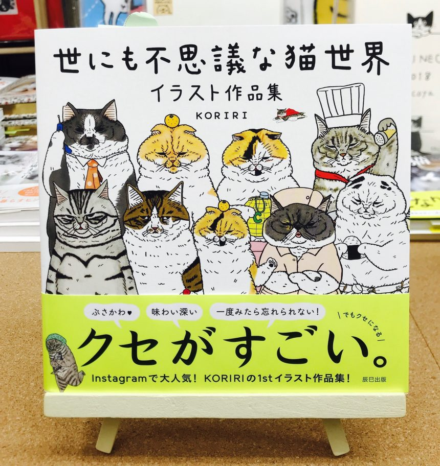 クセが強すぎてヤラれる!『世にも不思議な猫世界 イラスト作品集』