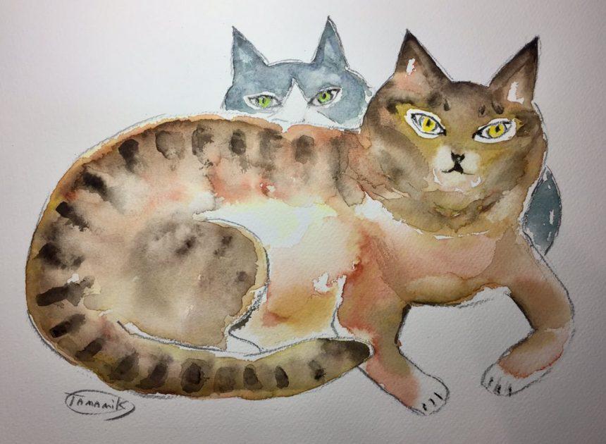 猫画展で会いましょう〜