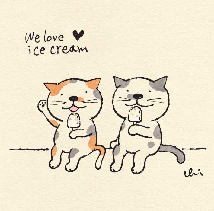 We love♡ice cream