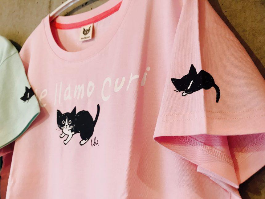 第3弾クリネコTシャツ