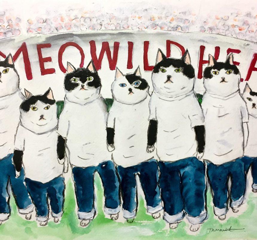 Meowildhearts 7匹のジーンズを履いた猫たち