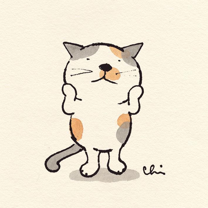 にゃんだか、お正月気分が抜けないわ~(´ω`*)