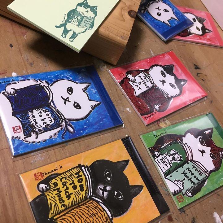 新作グッズ発売『メモ帳4種』