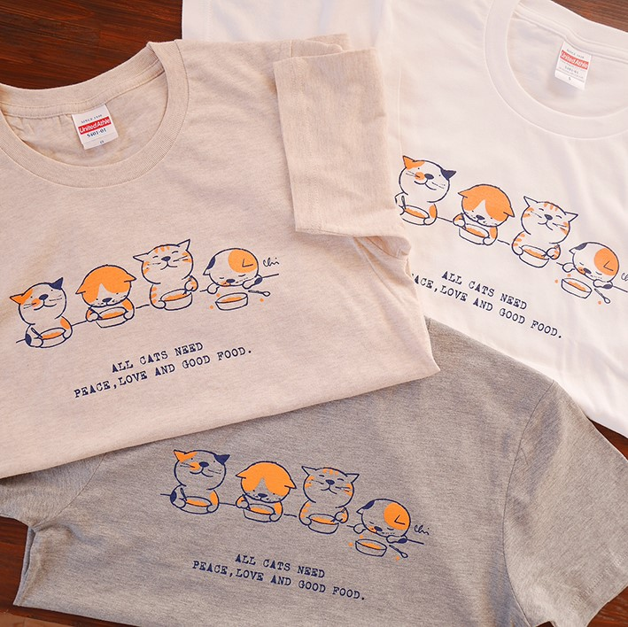 新作Tシャツのお知らせ。